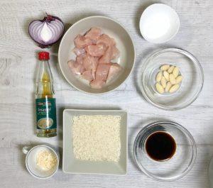 ingredienti pollo mandorle
