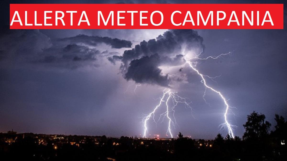SCUOLE ALLERTA METEO CAMPANIA