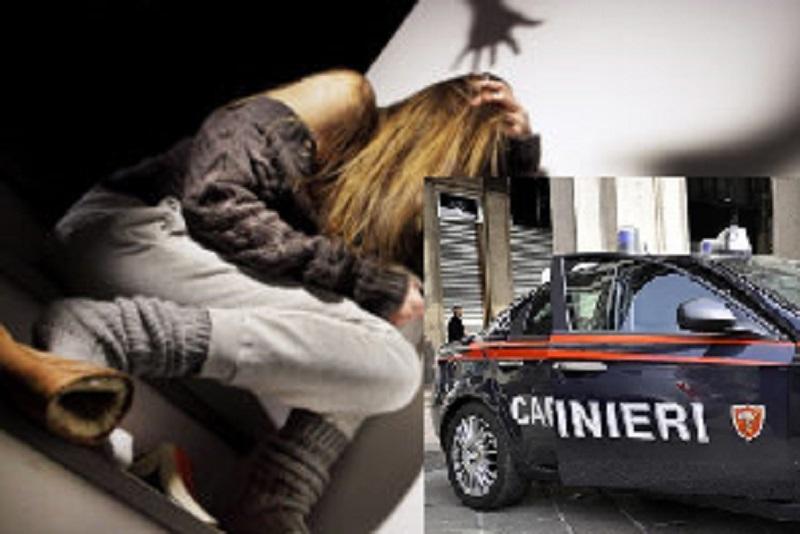violenza moglie acerra