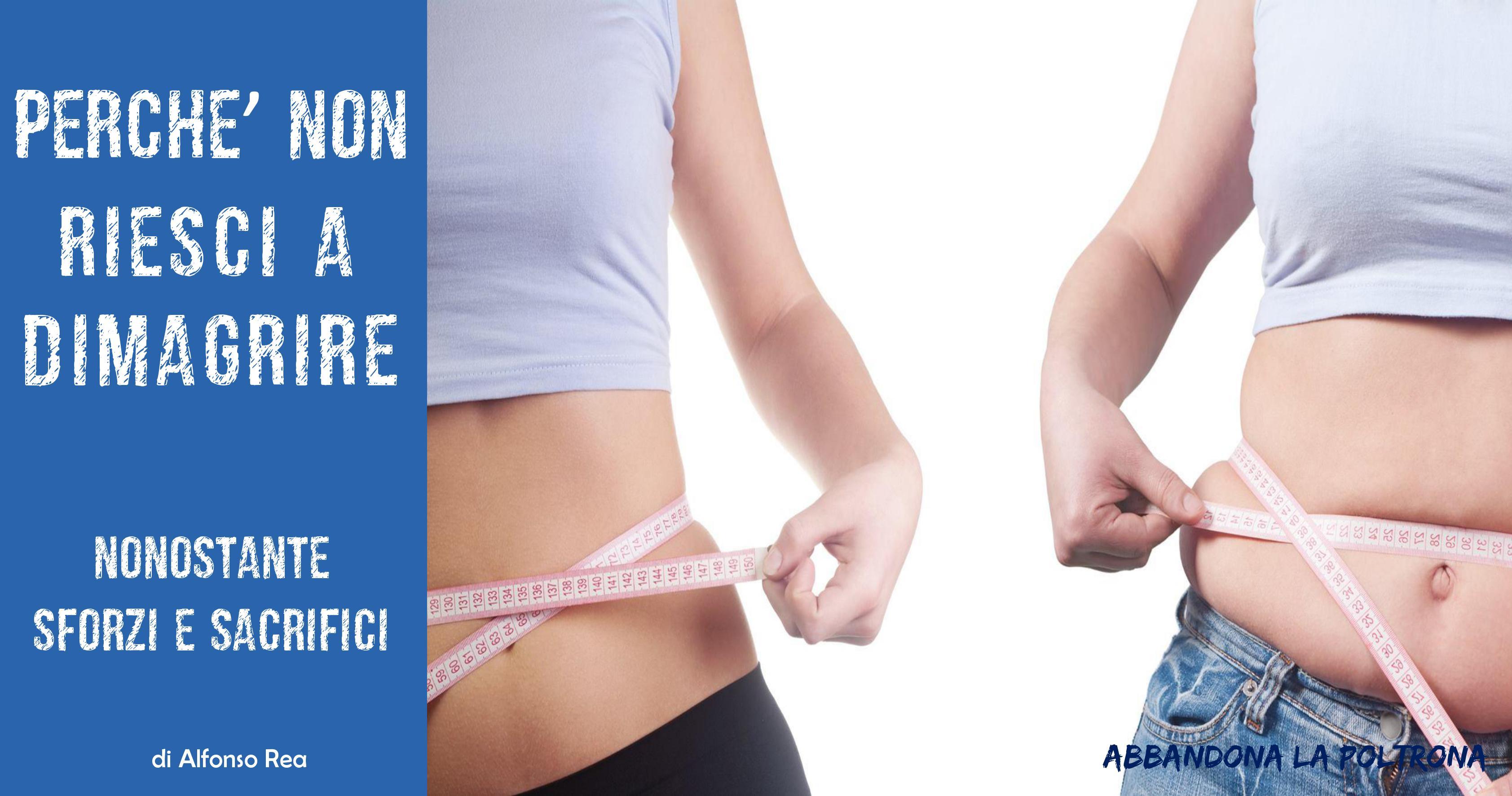 17 anni che vogliono perdere peso
