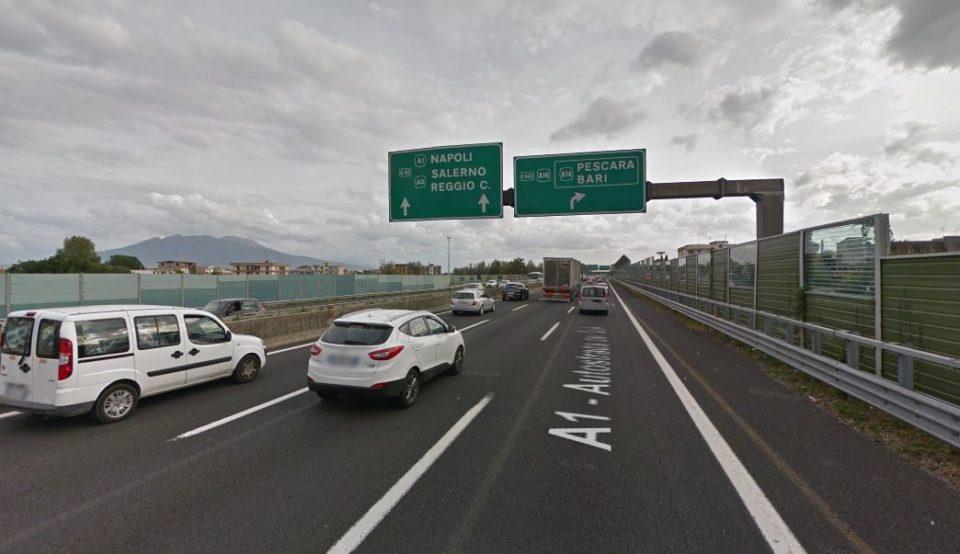 incidente autostrada antonio e mara