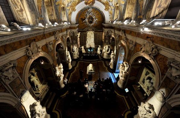 Cappella Sansevero. Veduta dall'alto