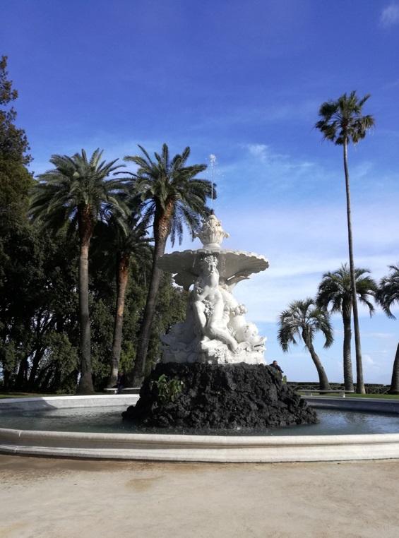 Foto fontana del Belvedere