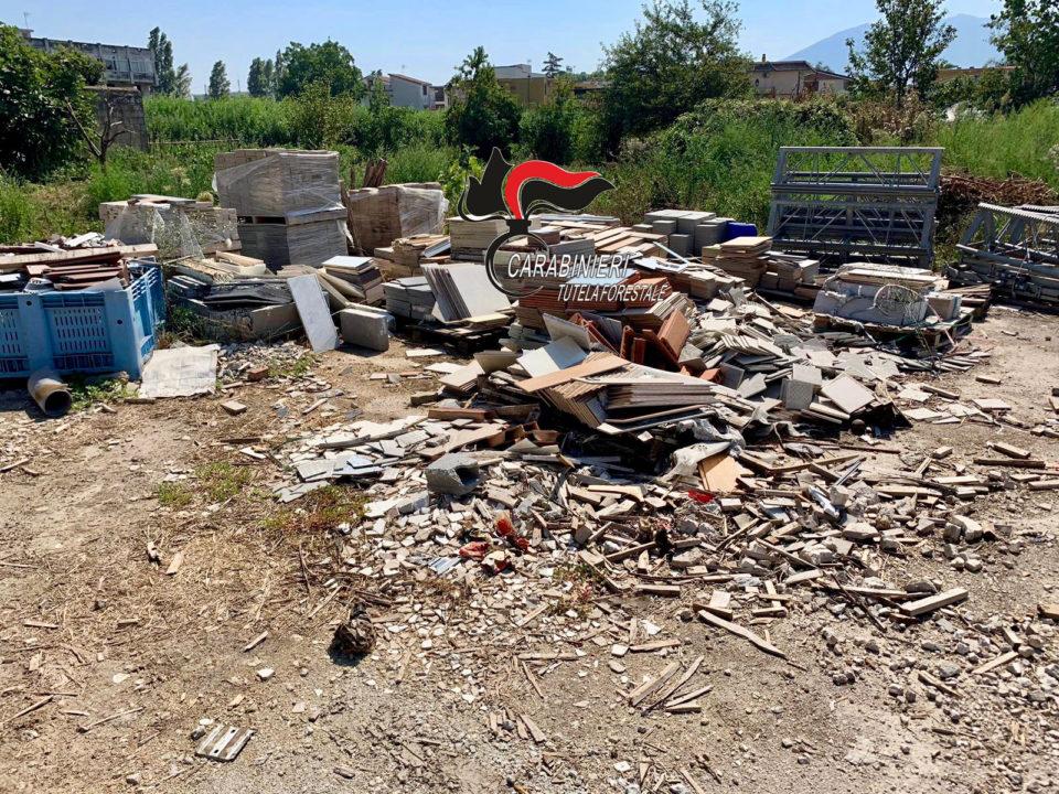 14.09.2019 marigliano reati ambientali ditta edile 1