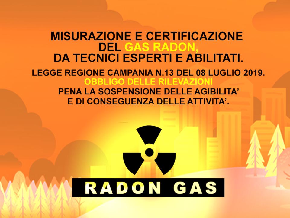 gas radon-regione campania